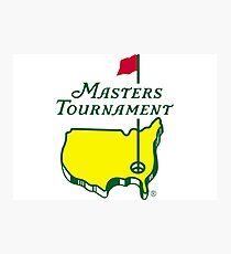 The Masters Golf Logo Photographic Print