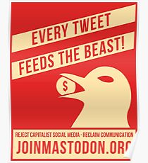 Every Tweet Feeds The Beast! Poster