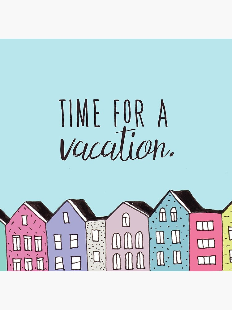 Time for a vacation by mirunasfia