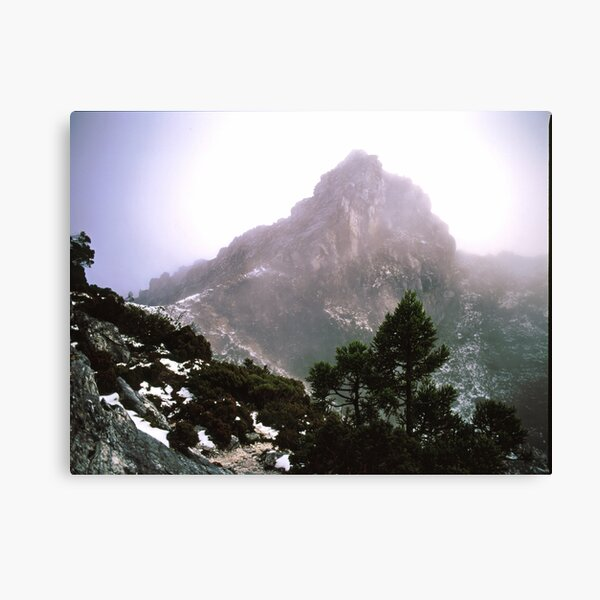 THE LIONS HEAD, FRENCHMANS CAP, TASMANIA. Canvas Print