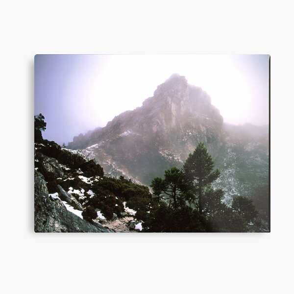 THE LIONS HEAD, FRENCHMANS CAP, TASMANIA. Metal Print