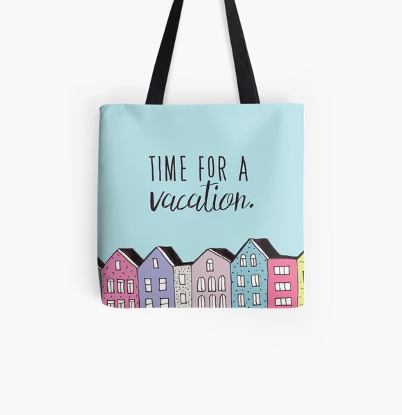 Time for a vacation All Over Print Tote Bag