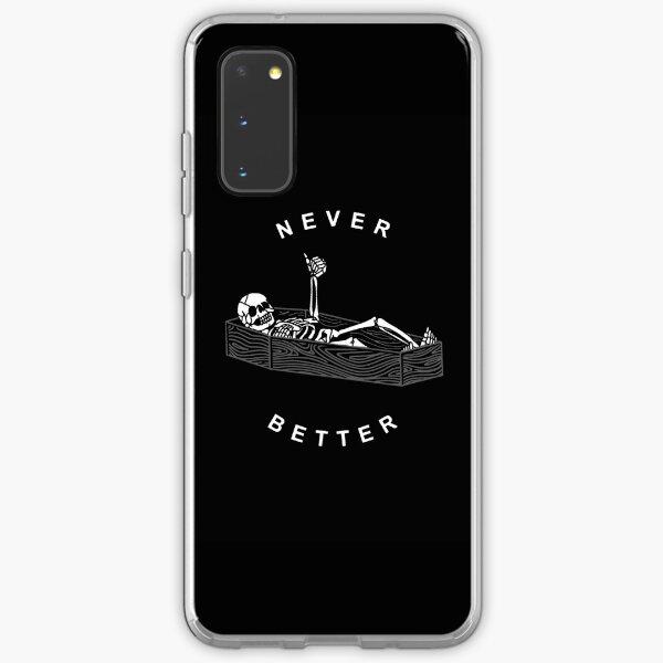 NEVER BETTER Samsung Galaxy Soft Case