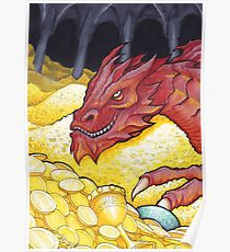 Dragon Treasure Poster