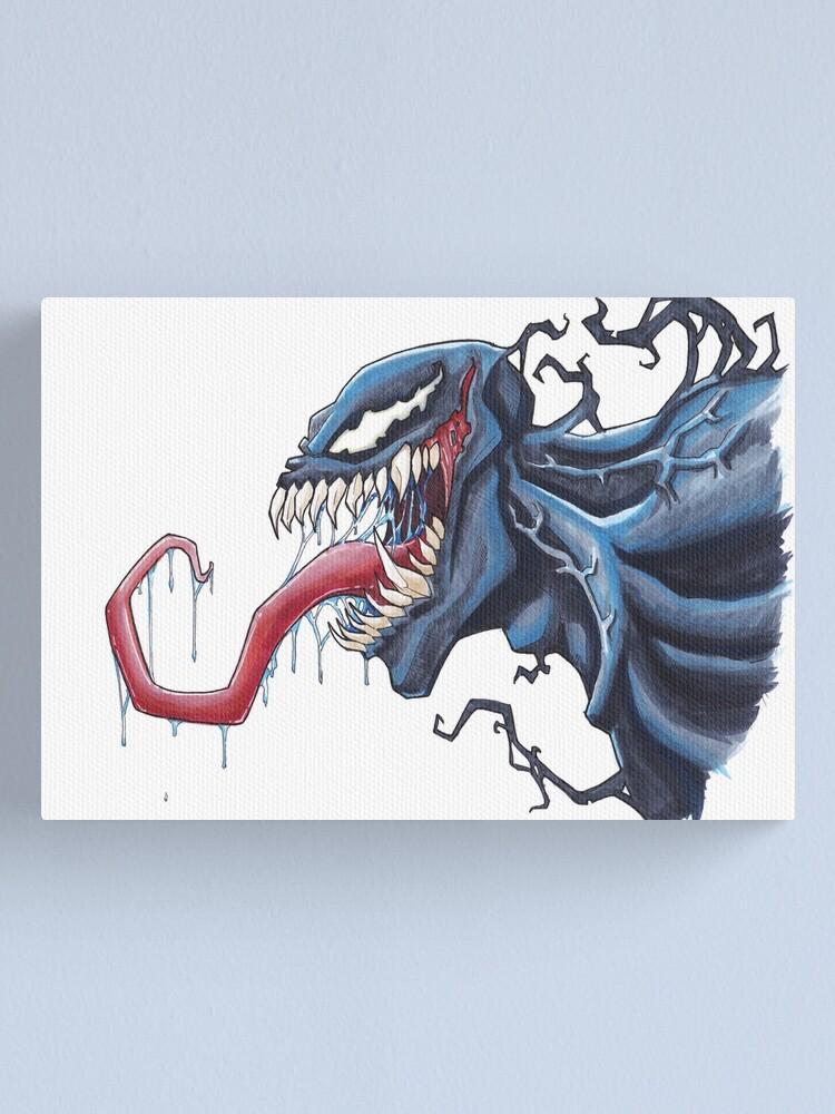 Alternate view of A Venomous Kiss Canvas Print