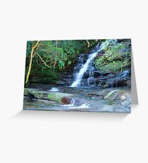 Somersby Falls - Brisbane Water National Park - Gosford NSW Greeting Card