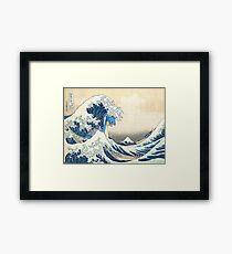 Lapras Tidalwave Framed Print