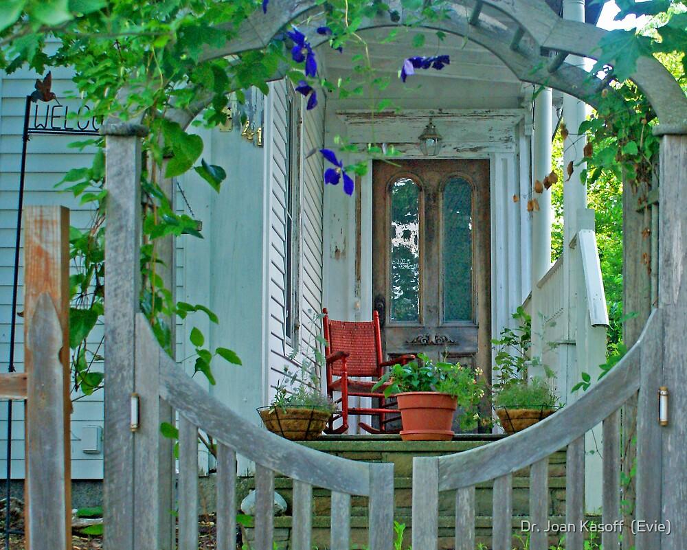 Garden Gate 1 by Dr. Joan Kasoff  (Evie)