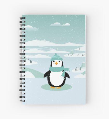 AFE Winter Penguin Spiral Notebook