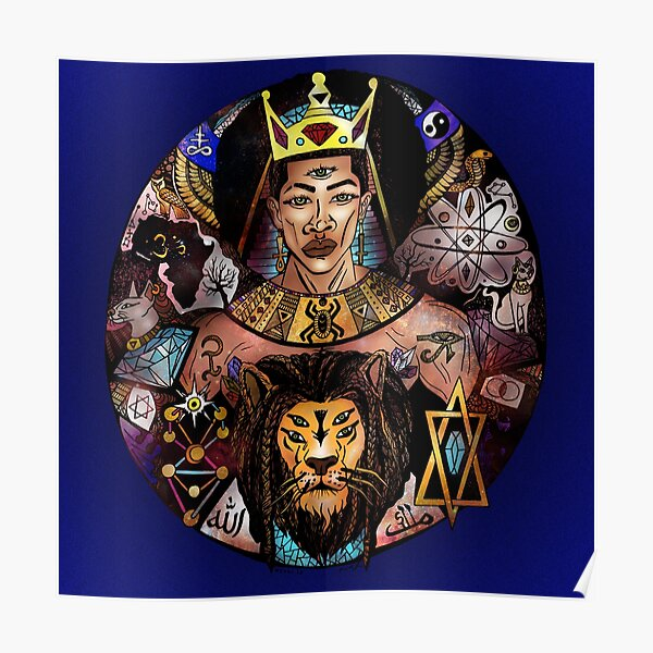 King Solomon and The Lion of Judah Poster