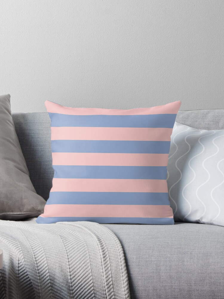 Pantone Colour of the Year 2016  Rose Quartz/ Serenity /Stripes by ozcushions
