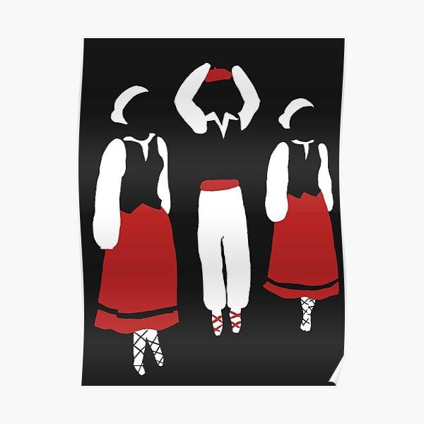 Danses basques Poster