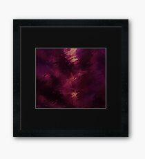 Burgundy Framed Print