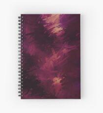 Burgundy Spiral Notebook