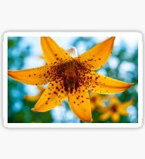 Yellow Bell Flower Sticker