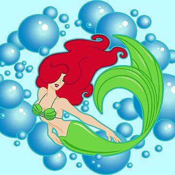 Mermaid Bubbles by DavidAyala