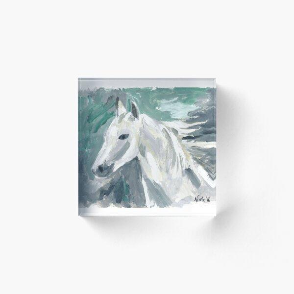 Horse by Nicole Mathieson Bloque acrílico