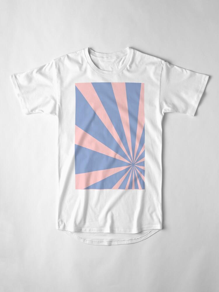Alternate view of Pantone Colour of the Year 2016  Rose Quartz/ Serenity /Sunbust Long T-Shirt