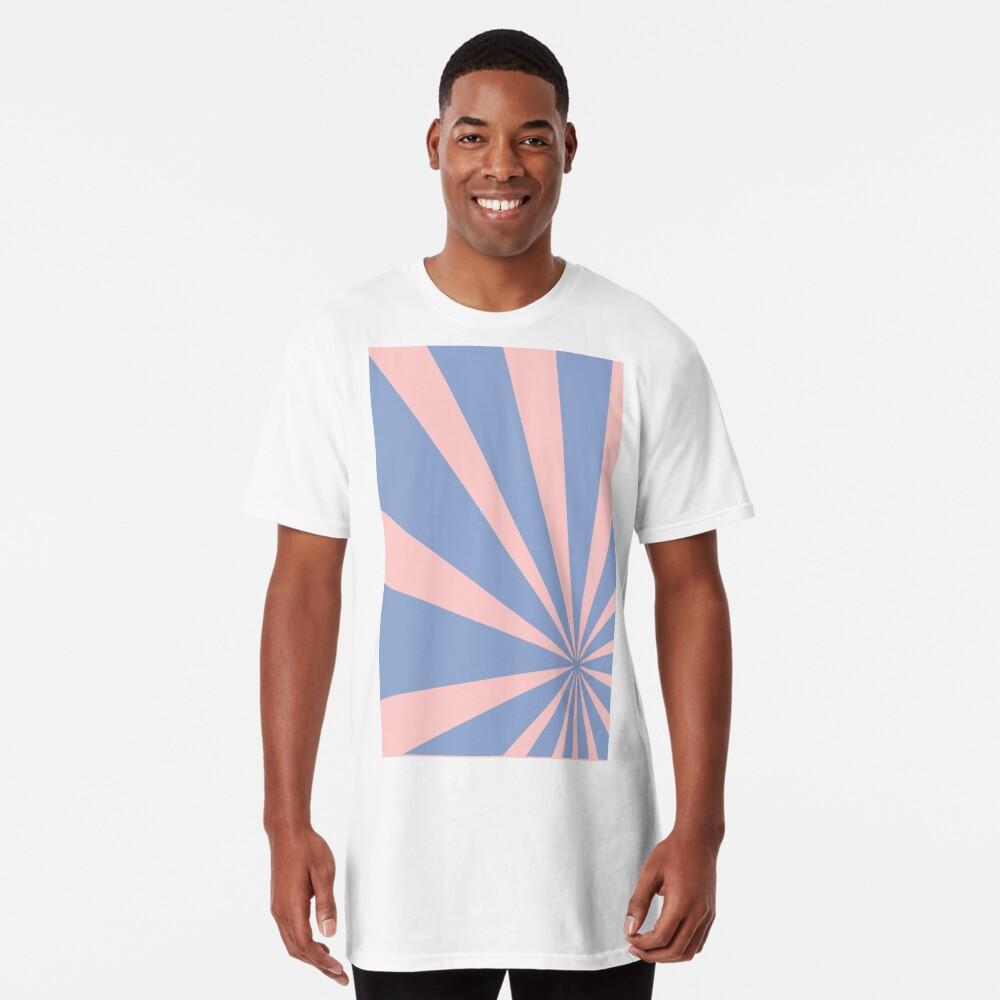 Pantone Colour of the Year 2016  Rose Quartz/ Serenity /Sunbust Long T-Shirt