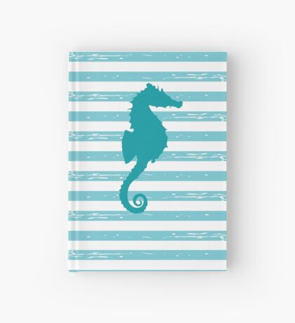AFE Mint Seahorse  Hardcover Journal