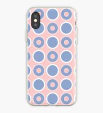 Pantone Colour of the Year 2016 Serenity/ Rose Quartz/ Circles iPhone Case