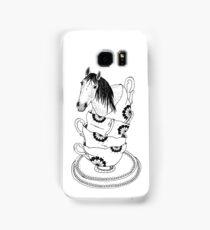 Teacup Horse by Ashley Fiona Samsung Galaxy Case/Skin