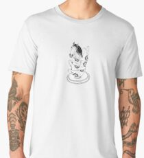 Teacup Horse by Ashley Fiona Men's Premium T-Shirt