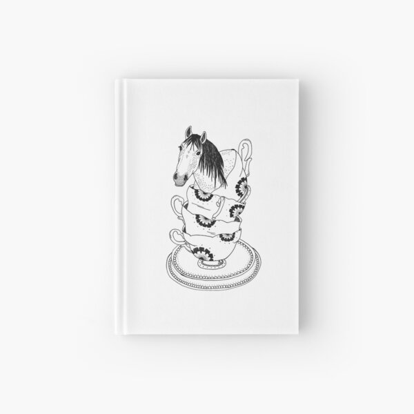 Teacup Horse by Ashley Fiona Hardcover Journal