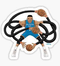 Mr. Triple Double Westbrook  Sticker