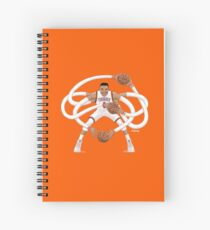 Mr. Triple Double Westbrook  Spiral Notebook