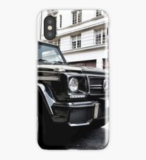 Black Mercedes G-Class iPhone Case