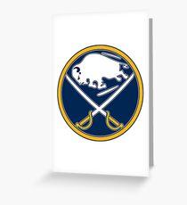 Buffalo Sabres Logo Greeting Card