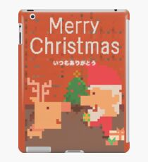 Pixel Christmas iPad Case/Skin