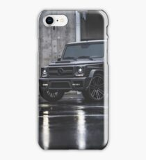 Grey Mercedes G-Class  iPhone Case/Skin