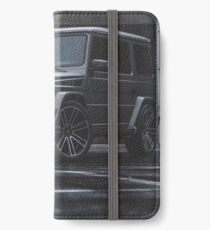 Gray Mercedes G-Class iPhone Wallet/Case/Skin