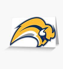 Buffalo Sabres Alt Logo  Greeting Card