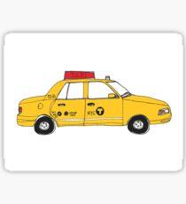 NYC Taxi Sticker