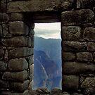 Inca Doorway by Elaine Stevenson