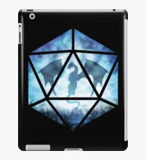 Blue Sky Ice Dragon D20 iPad Case/Skin