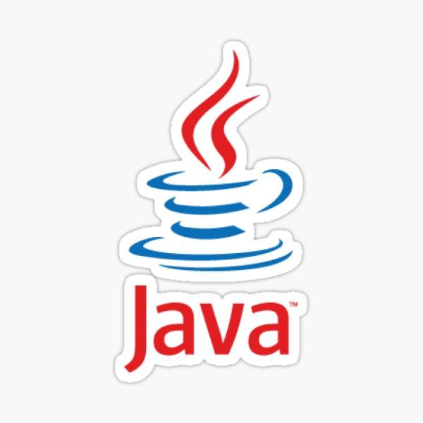 Java Logo Classic Sticker
