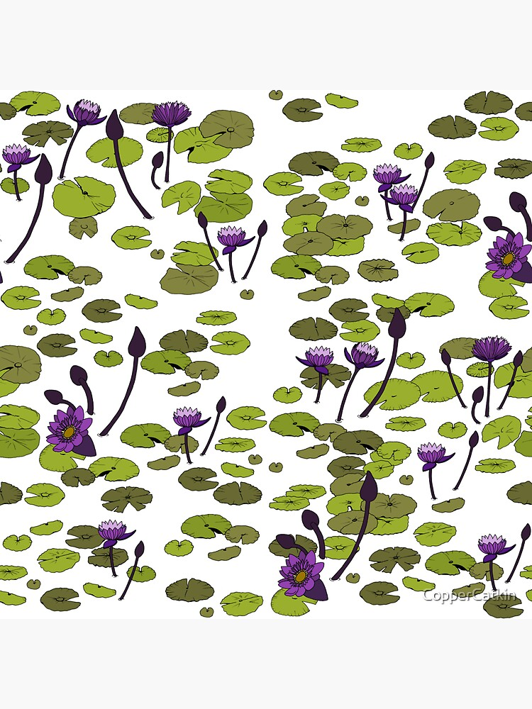Tahitian Water Lilies by CopperCatkin