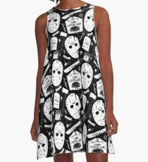 Welcome Campers! A-Line Dress