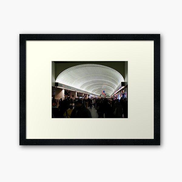 Grand Central Underground Framed Art Print