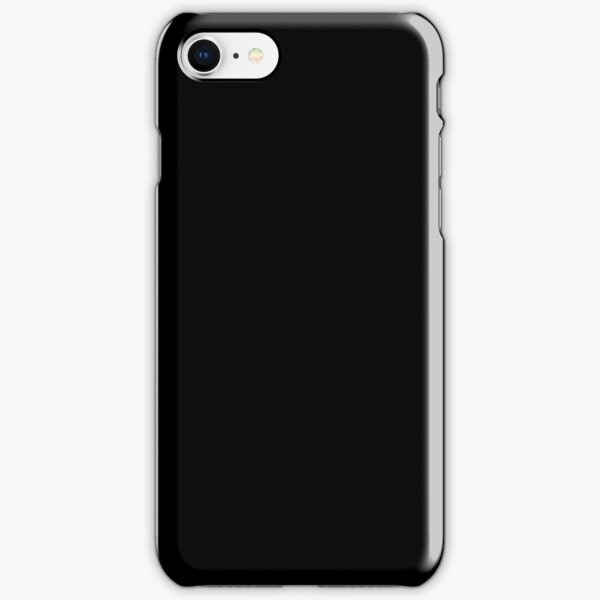 PLAIN BLACK | SOLID BLACK | DARKEST BLACK | MOONLESS SKY | ACCENT BLACK | HIGHEST SELLING BLACK iPhone Snap Case