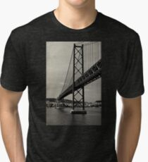 Lisbon's Golden Gate  Tri-blend T-Shirt