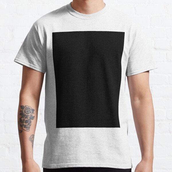 PLAIN BLACK | SOLID BLACK | DARKEST BLACK | MOONLESS SKY | ACCENT BLACK | HIGHEST SELLING BLACK Classic T-Shirt