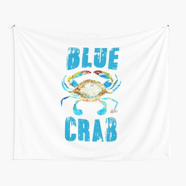 Blue Crab type Tapestry