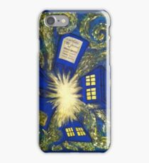 Exploding TARDIS iPhone Case/Skin