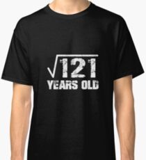 Square Root Birthday 11th Funny Math Tee Classic T-Shirt