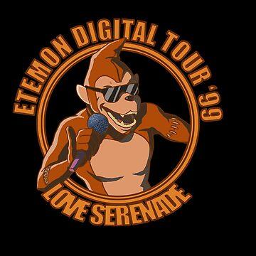 Etemon Digital Tour by Gigan91